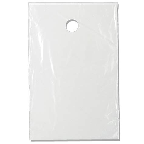 10x15 door knob plastic bag non printed 24clr1014