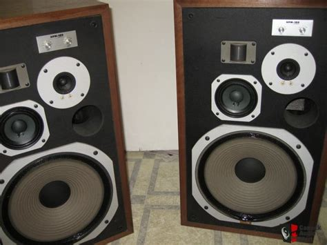 nice speakers vintage pioneer hpm 100 speakers nice photo 488603