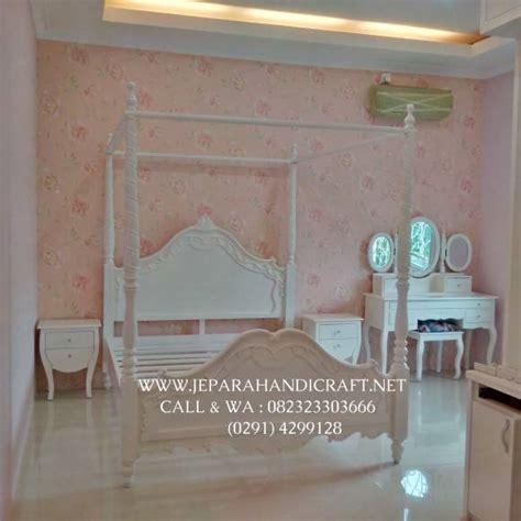 Himmelsk Kanopi Tempat Tidur Putih jual murah tempat tidur anak perempuan putih kanopi