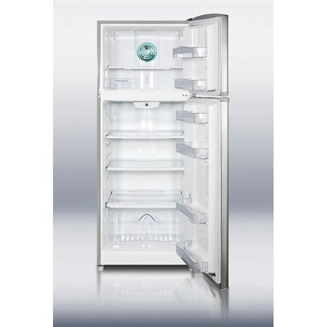 Apartment Size Fridge And Freezer Summit Ff1425ss 12 7 Cu Ft Apartment Size Refrigerator