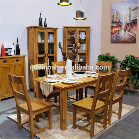 oak furniture dining room modern wooden dining table
