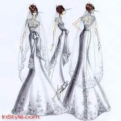 Free Wedding Dress Sketches » Ideas Home Design