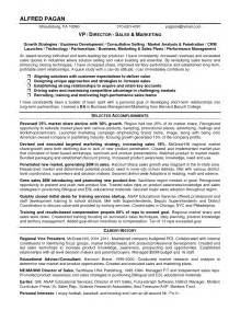 Commercial Sales Manager Sle Resume by Inspire Business Performance Management Sales And Marketing Manager Resume Sle Expozzer