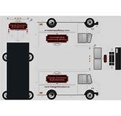 PAPERMAU Delivery Truck Paper Model  By Vintage