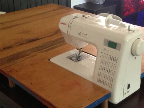 Crochet along let s start diy sewing machine extension table