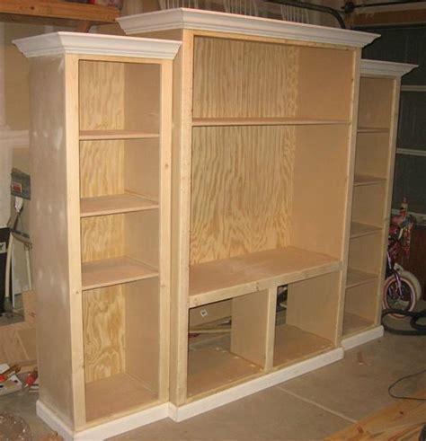 woodwork diy entertainment center plans  plans