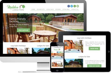 Motel Accommodation Hotel Web Design Idea 05 Png 1 344 | meldon lodge park website dynamek web design in cornwall