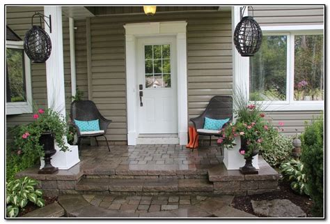 front patio decor ideas small front porch decorating ideas porches home design