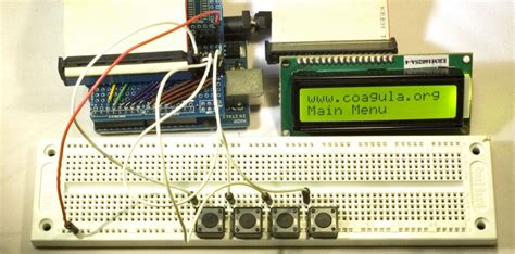 arduino tutorial menu tutorial manage menu and lcd display with arduino