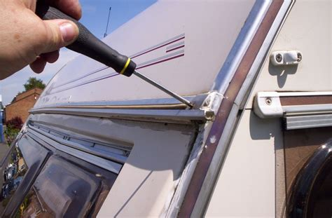 caravan awning repair wizards caravan repair