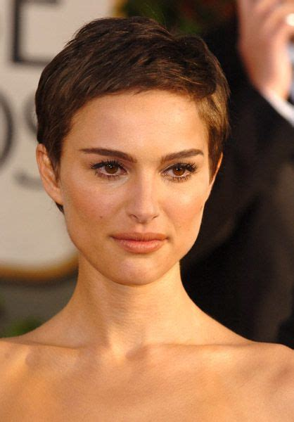 google images celebs with pixie cuts natalie portman pixie google search hair refined