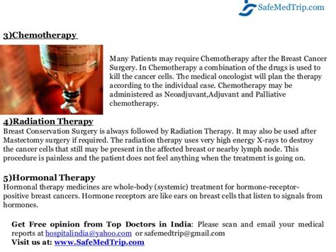 mammary tumor removal cost how to get low cost breast cancer treatment at world class hospitals
