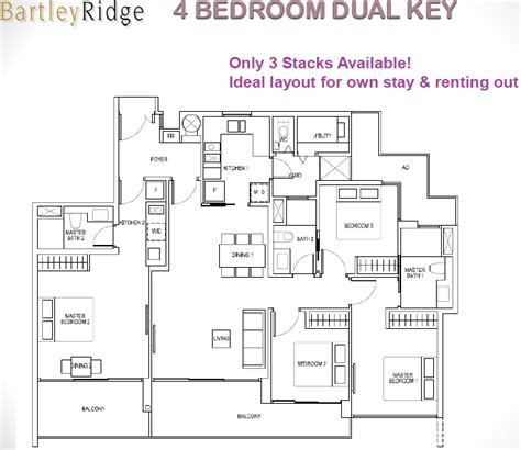 Floor Plan Key | bartley ridge bartley condo