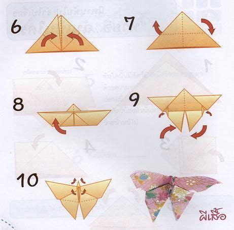 Butterfly Origami Steps - easy and cheap way to make your own uplighting