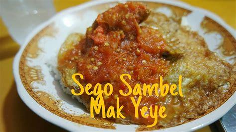 Sambel Jambal Asli Surabaya kuliner pedas sego sambal mak yeye surabaya