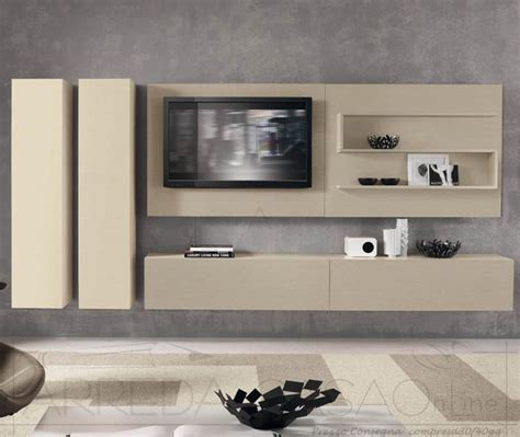 mobile soggiorno moderno mobile soggiorno moderno frassino avorio visone domino