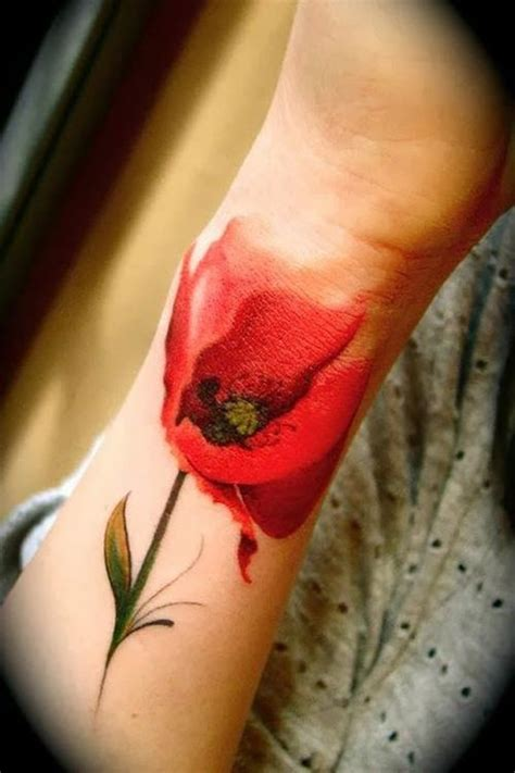 watercolor tattoo greece 52 stunning watercolor poppy ideas flowertattooideas