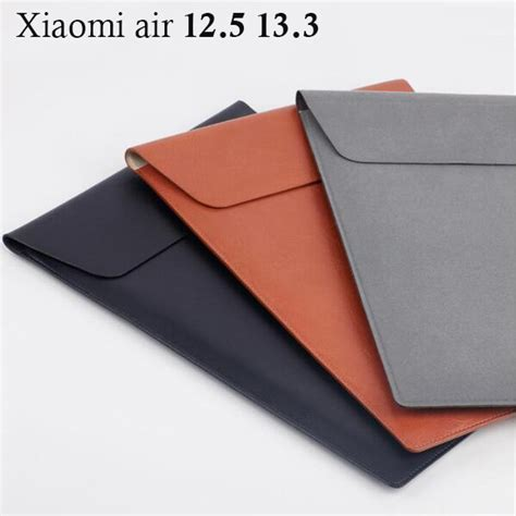 Casing Original Sleeve Leather For Macbook Laptop 11 Inch original xiaomi 13 3 12 5 inch laptop sleeve bag fiber leather protect for macbook air 11
