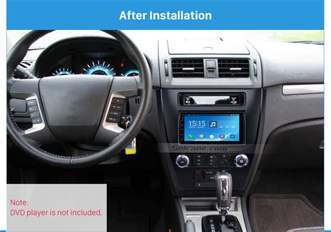 how things work cars 2010 ford fusion navigation system car stereo radio fascia frame panel installation kit for ford fusion 2009 2012 ebay