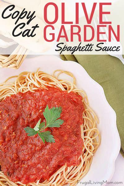Olive Garden Spaghetti Sauce by Copycat Olive Garden Spaghetti Sauce