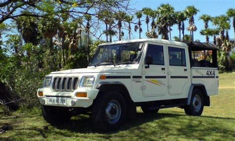 mahindra bolero weight mahindra bolero cer mileage review price specs features