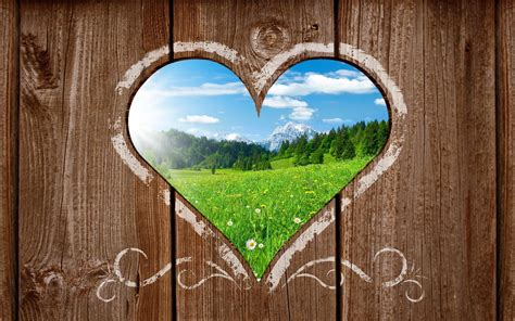 Normal Home Interior Design Nature Heart In Wooden Wall Best Hd Hd Wallpapers Rocks