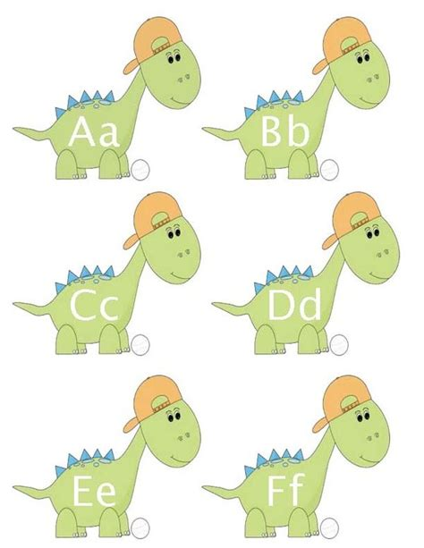 printable dinosaur alphabet 37 best images about dinosuars on pinterest preschool