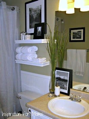 how to decorate a guest bathroom building floating shelves in a small bathroom powder