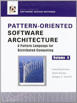 pattern language book pattern oriented software architecture volume 4 a pattern