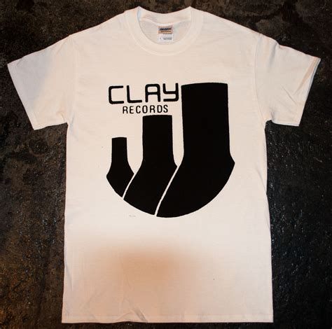 Clay Clerk Search Clay Records Logo T Shirt 183 Side Two 183 Store Powered By Storenvy