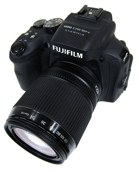 Kamera Fujifilm Finepix Hs55exr geschwindigkeit testbericht zur nikon coolpix p520
