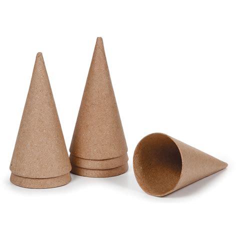 craft paper cones darice paper mache cone jo