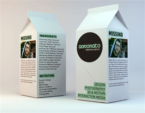 milk graphic design magazine 261 best collection creative cv s images on pinterest