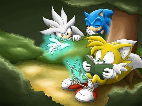 Blender Cosmos Blaze sonic the hedgehog silver the hedgehog and quot tails quot prower heh i that guilty