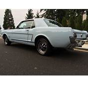 1965 Ford Mustang Sport Coupe 289 V8 Factory C Code 66 67