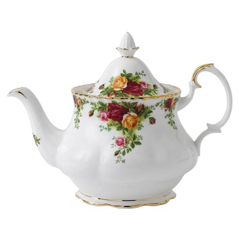 Pink Retro Kitchen Collection royal albert china teapot old country roses
