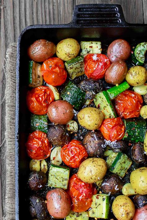 how to roast root vegetables in oven best italian oven roasted vegetables the mediterranean dish