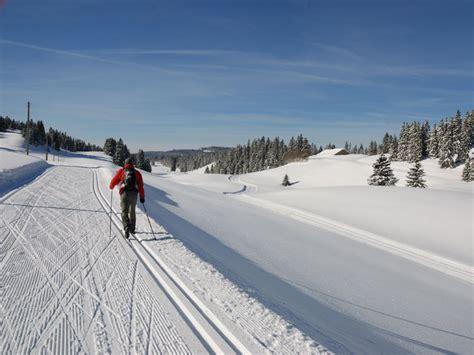 les plus belles pistes de ski de fond en suisse ski