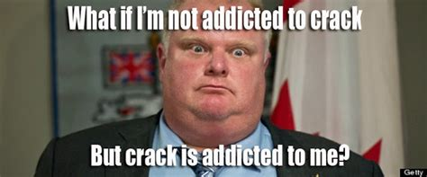 Crack Cocaine Meme - funny meme mories toronto mayor rob ford also has