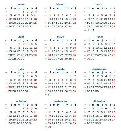 calendario 2015 septiembre roberto mattni co calendario laboral colombia 2015 d 237 as festivos rankia