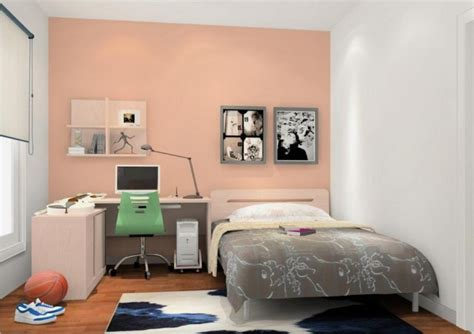 Gray Walls In Bedroom - simple bedroom for male students 3d house