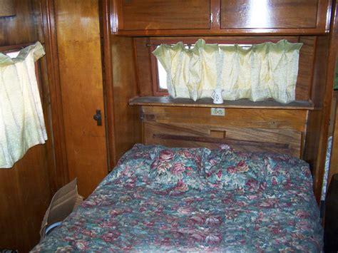 in the bedroom trailer 1952 ventoura mobile home remodel