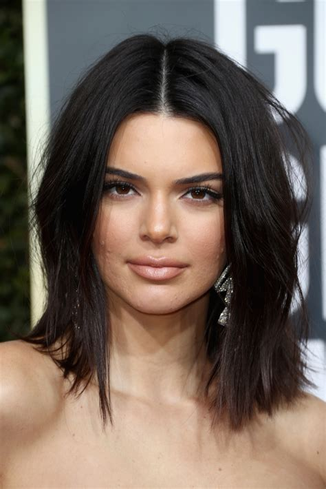 Kendall Jenner Hairstyles by Kendall Jenner Acne At Golden Globes Sparks Fierce