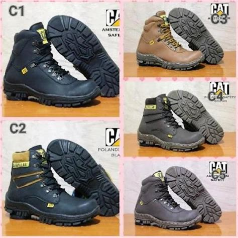 Caterpillar Frogskin Safety sepatu boots caterpillar archives hargatbaru