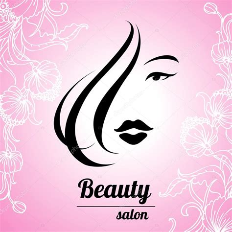 beauty layout vector design business card for hair and beauty salon stock