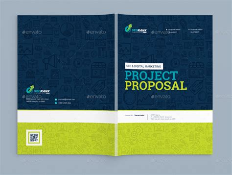 design of cover page for project project proposal template for seo search engine
