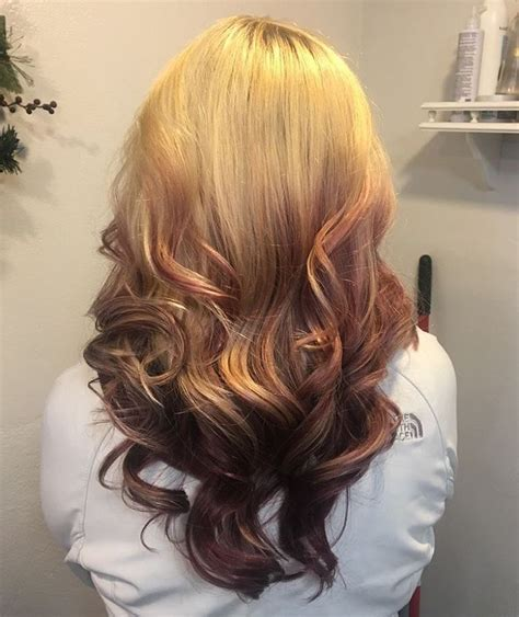 reverse ombre at home 48 looks with reverse ombre hair color pictures 2018