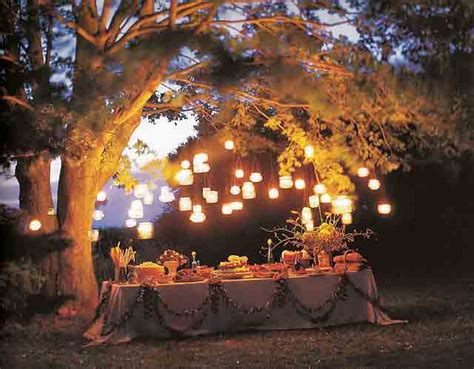 backyard lighting ideas for a party garden party ideas by a professional party planner