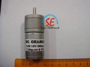 Jual Motor Dc Untuk Robot motor dc 12v 300rpm untuk line tracer jual aneka motor dc malang electronic