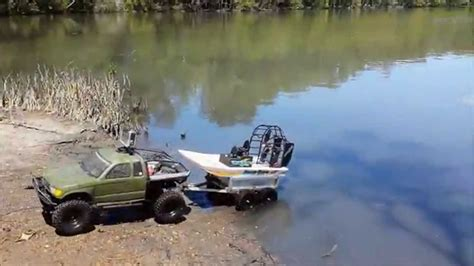 boats with big fans rc boat launch off trailer hobbyking sw dawg rc air